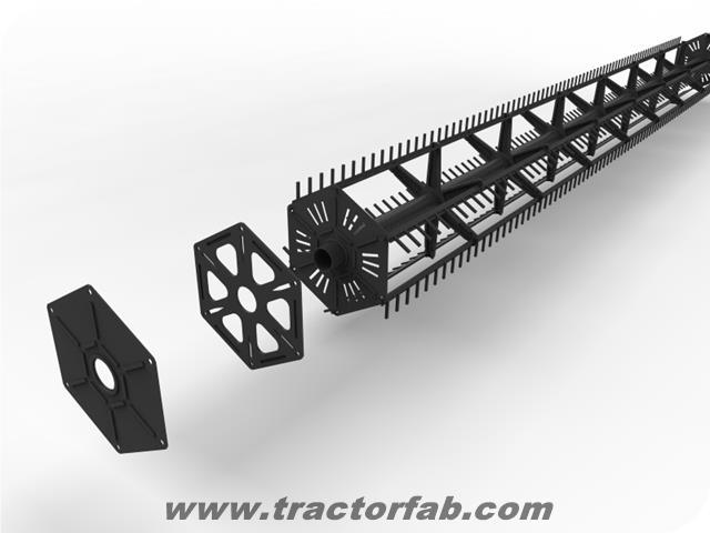 Header Reel Kit 6 Bat Common Style Tractorfab Com